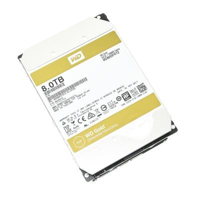 """WD HD WD Gold 3.5"""" 8TB 24x7 SATA-III"""