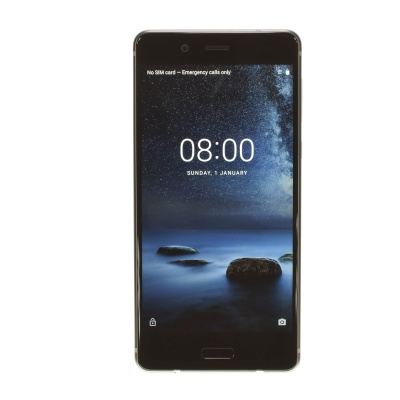 "Nokia 8 (5.30"", 64GB, 13MP, stainless steel)"
