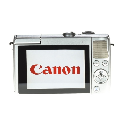 Canon EOS M100 Body (24.20MP, 6FPS, WLAN)