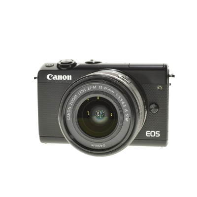Canon EOS M100 Promo-Kit (15 - 45 mm, 24.20MP, 6FPS, WLAN)