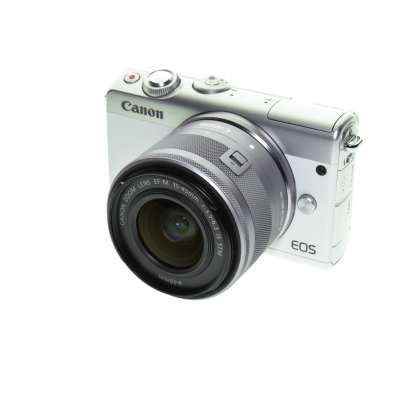 Canon EOS M100 Promo-Kit (15 - 45 mm, 24.20MP, 6FPS, WiFi)