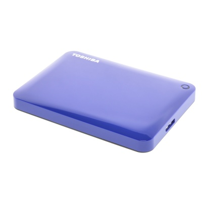 Toshiba HD CANVIO CONNECT II USB3 1TB blau (1000Go)