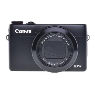 Canon PowerShot G7 X Mark II (24 - 100 mm, 20Mpx, 6.50FPS, WiFi)