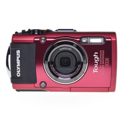 Olympus Tough TG-4, Unterwasserkamera, FullHD, Stossfest (4.50 - 18 mm, 16MP, 5FPS, GPS, WLAN)