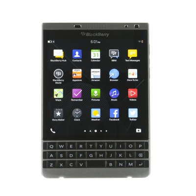 "BlackBerry Passport (32Go, Noir, 4.50"", SIM simple, 13Mpx, 4G)"