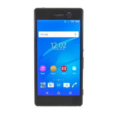"Sony Xperia M5 (5"", 16GB, 21.50MP, Black)"
