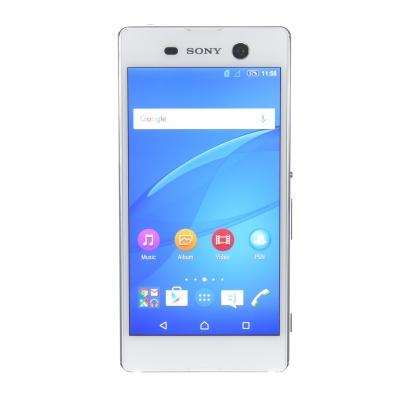 """Sony Xperia M5 (5"""", 16GB, 21.50MP, Bianco)"""