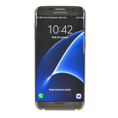 "Samsung Galaxy S7 edge (5.50"", 32GB, 12MP, Gold Platinum)"