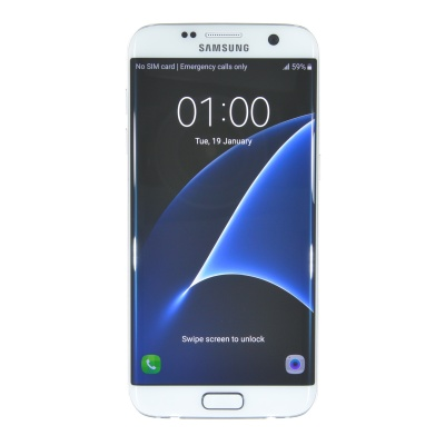 "Samsung Galaxy S7 edge (5.50"", 32GB, 12MP, White Pearl)"
