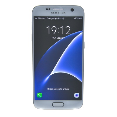"Samsung Galaxy S7 (5.10"", 32GB, 12MP, Silver Titanium)"