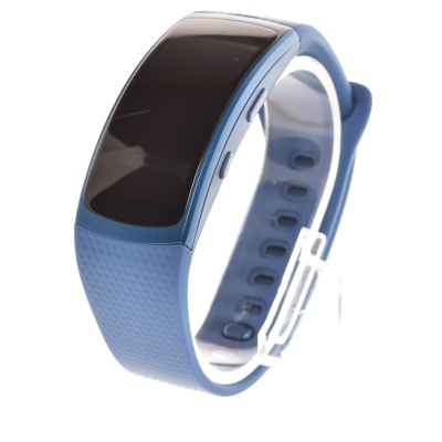 Samsung Gear Fit2 (S, Blue, Plastic)