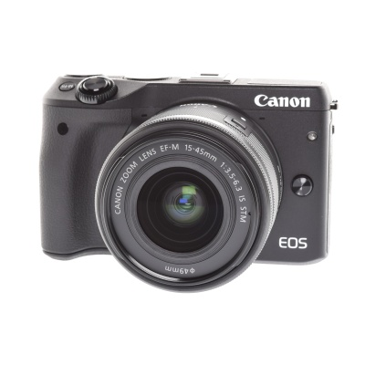 Canon EOS M3 Kit (15 - 45 mm, 24.20MP, 4.20FPS, WLAN)