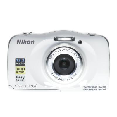 Nikon Coolpix W100, Wasserfest bis 10m (4.10 - 12.30 mm, 13MP, WLAN)