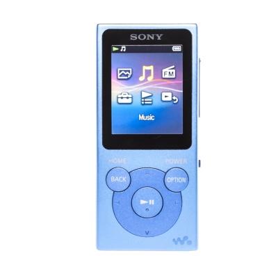 Sony NW-E393 (4GB, Blau)