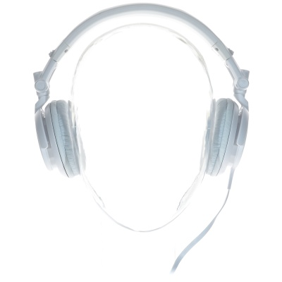 Sony MDR-V55 (On-Ear, Weiss)