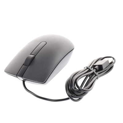 Dell MS116 USB 3-Button Optical Maus (Cable)