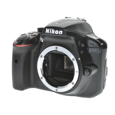 Nikon D3400, Body (24.2MP, 5FPS)