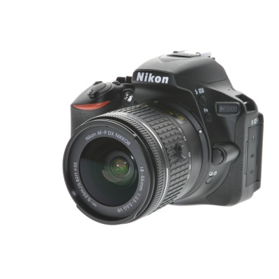 Nikon D5600 AF-P Doublezoom (18 - 55 mm, 24.20MP, 5FPS, WLAN)