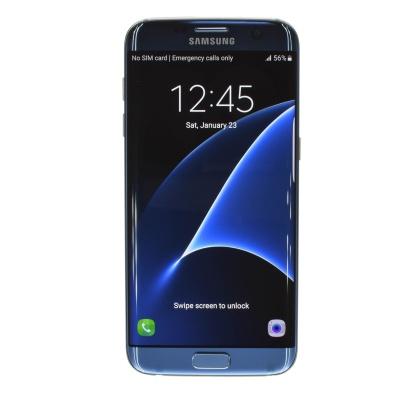 """Samsung Galaxy S7 edge (5.50"""", 32GB, 12MP, Blue Coral)"""