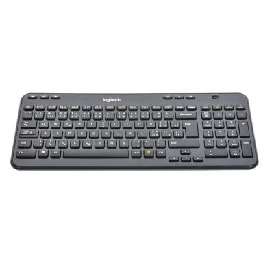 Logitech Wireless Keyboard K360 (USB, DE, Sans fil)