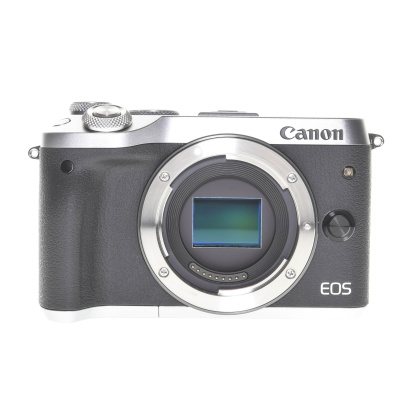 Canon EOS M6 Silber (24.20MP, 7FPS, WiFi)