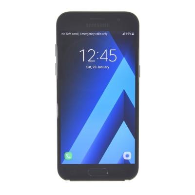 Samsung Galaxy A3 (2017) (16GB, Black-Sky, 4.70