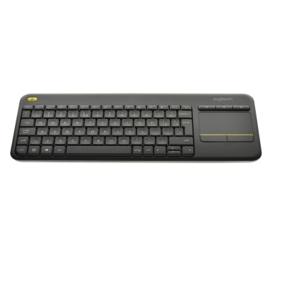 Logitech Wireless Touch Keyboard K400 Plus (USB, US, Sans fil)