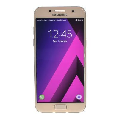 """Samsung Galaxy A3 (2017) (4.70"""", 16GB, 13MP, Peach-Cloud)"""