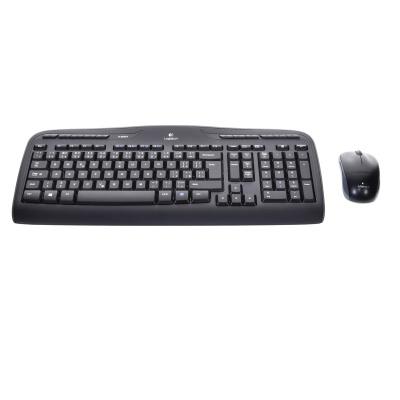 Logitech Wireless Combo MK330 (USB, CH, Kabellos)