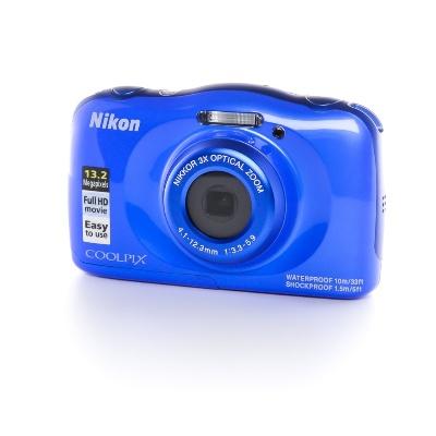 Nikon COOLPIX S33, Wasserfest bis 10m (1/3.2