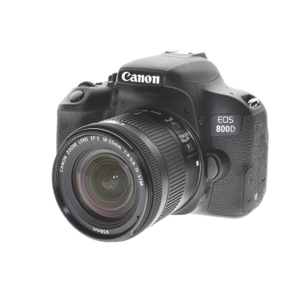 Canon EOS 800D Kit (18 - 55 mm, 24.20MP, 6FPS, Wi-Fi)