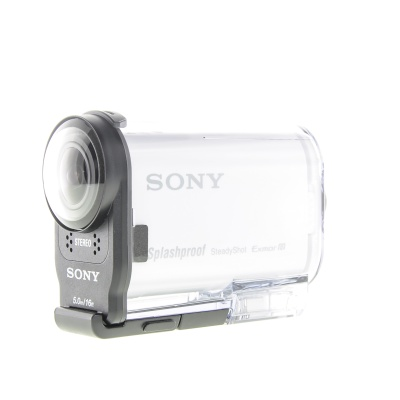 Sony HDR AS200VR avec Live-View Remote RMLVR2 (8.80Mpx, 60p, Blanc)
